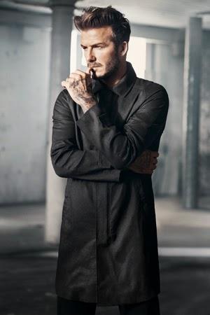 moda hombre David Beckham H&M abrigo primavera 2015