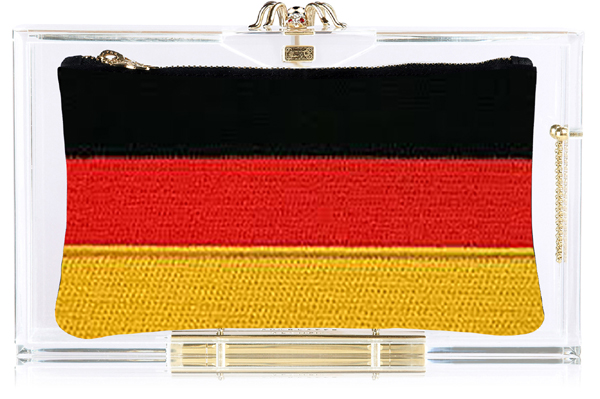 Charlotte Olympia Hat Trick Pandora box clutch Germany