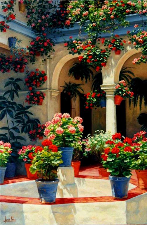 Marzua decorar un patio interior - Patios andaluces decoracion ...