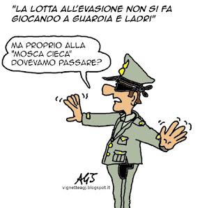 tasse, guardia di finanza, evasione, vignetta satira