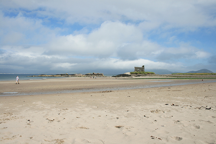 irish beach on a sunny day