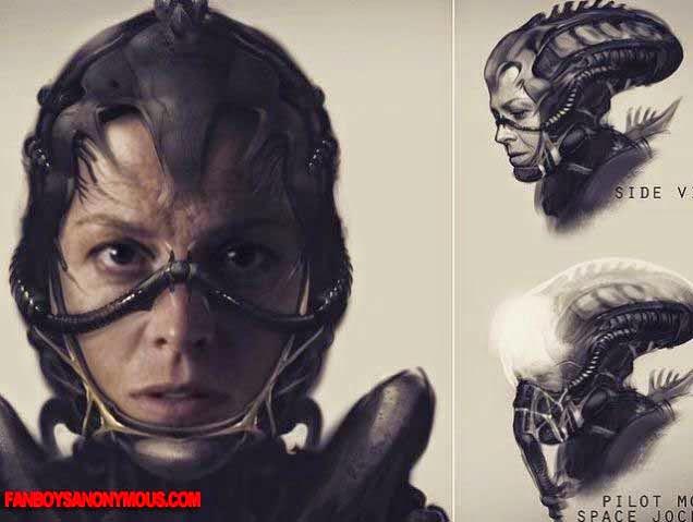 Aliens Xenomorph Ripley Horror Sequel Sigourney Weaver
