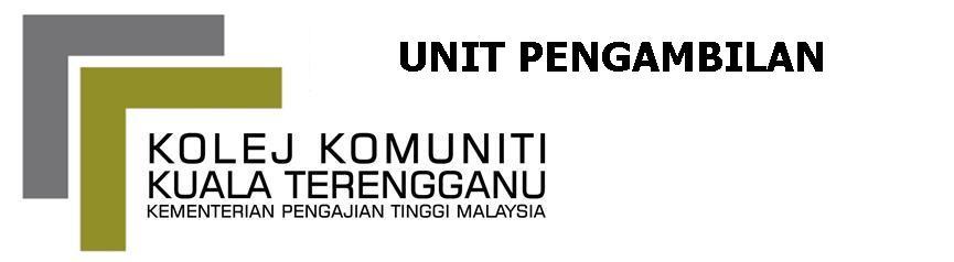 Bahagian Pengambilan Kolej Komuniti Kuala Terengganu