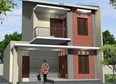 desain rumah bertingkat