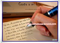 Reflexiones de Familia, Carta a mi hija, Dios, amor