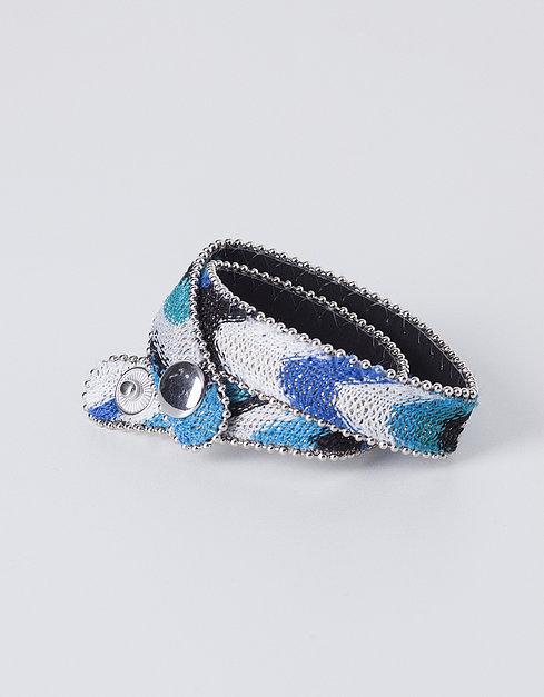 Cinto azul e branco da Blanco 2,99€