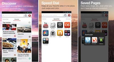 Download Opera untuk Android Terbaru, diluncurkan dalam versi beta