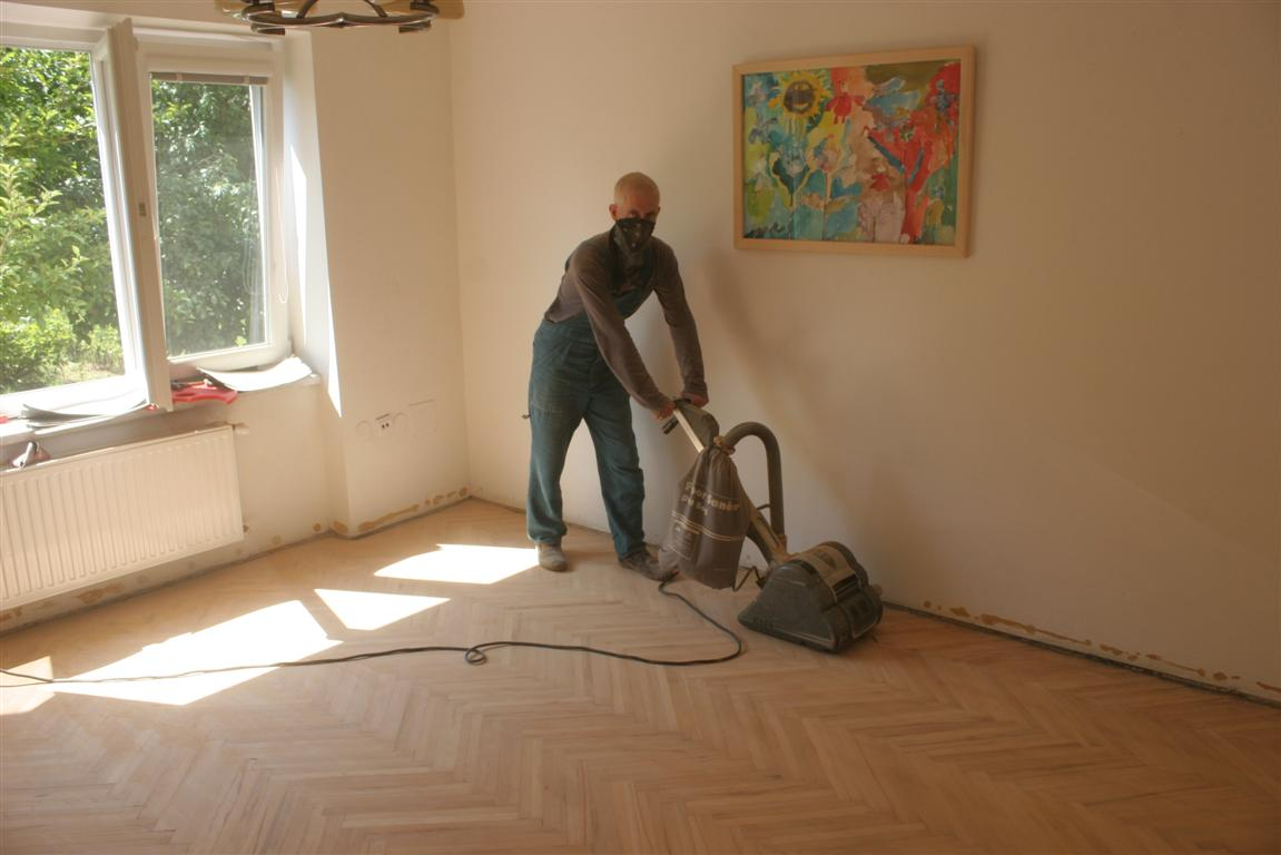 Smithfarm The Brain Parquet Floor Renovation Renovace