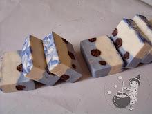 Jabón de chocolate y oliva