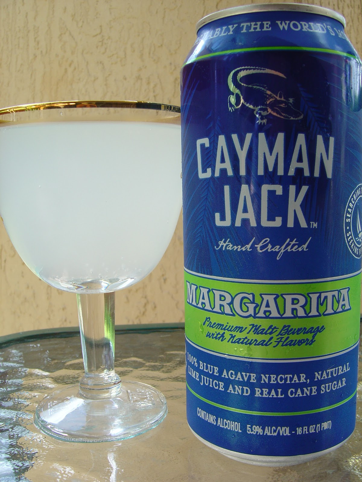 daily beer review: cayman jack margarita
