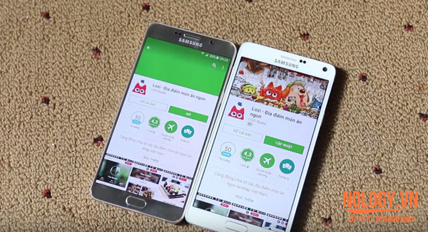 Samsung Galaxy Note 4 và Samsung Note 5
