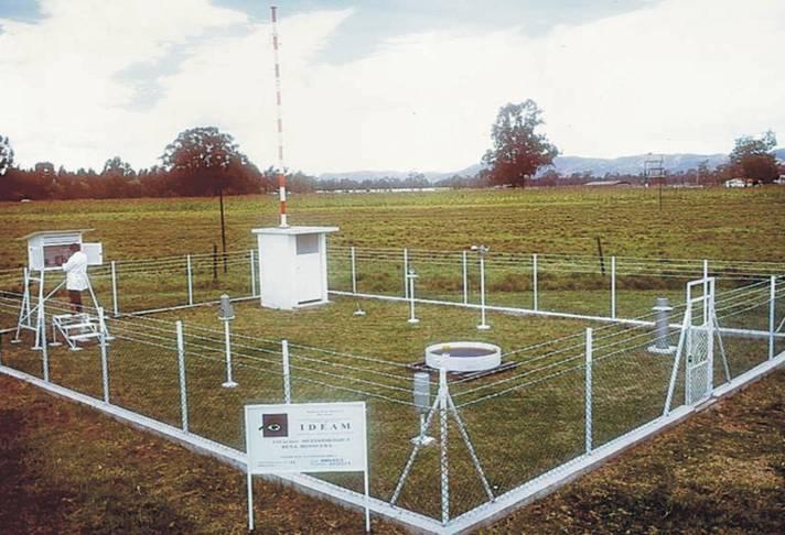 Estacion pluviometrica