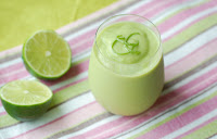 Avocado and Coconut Water Smoothie