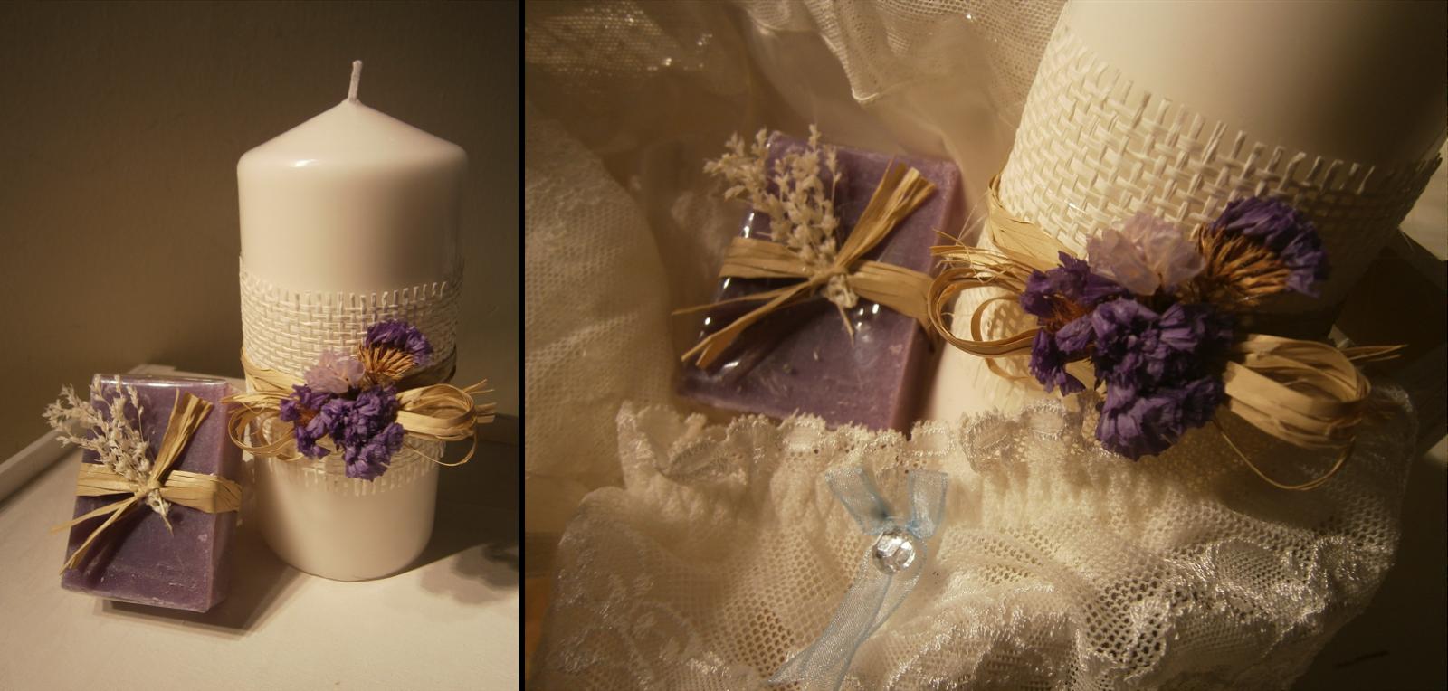 Kit de novia de Momentips, liga azul