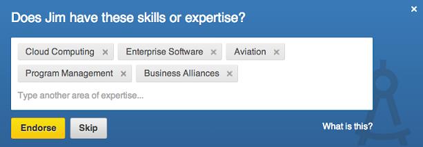Työ eLama miettii LinkedIn endorsement sekä statistiikkaa