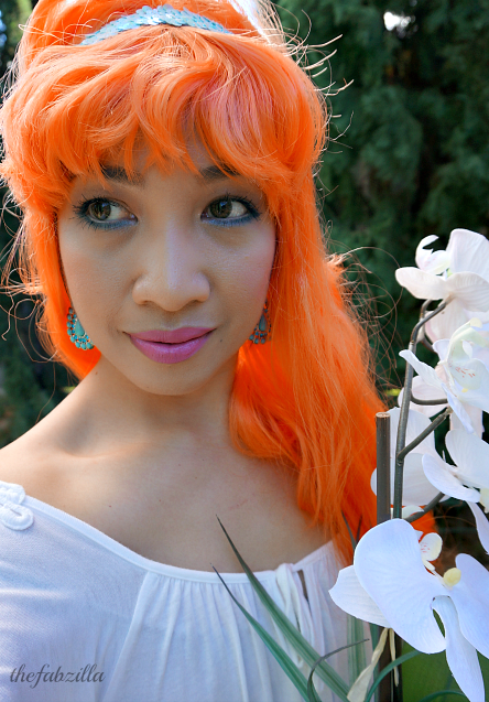 Halloween Makeup, How-to, Thumbelina Makeup, Thumbelina Costume