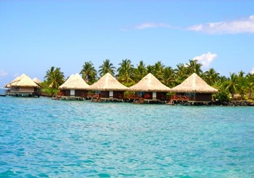 Visão panorâmica das Ilhas Maurício