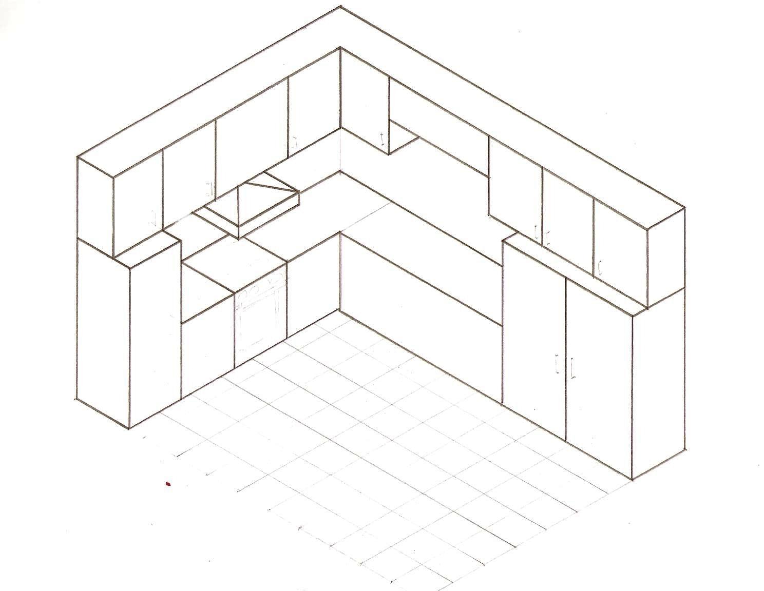 Estudiando construcci n dibujo t cnico ejercicios en for Plano de planta dibujo tecnico
