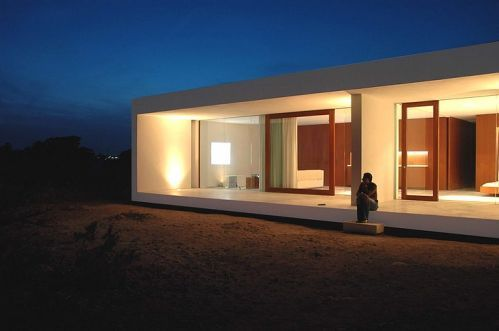 Minimalist house architecture design photos for Minimalist house design uk
