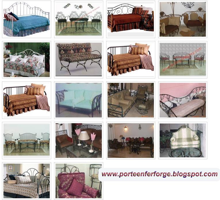 fer forge lit eiweiss. Black Bedroom Furniture Sets. Home Design Ideas