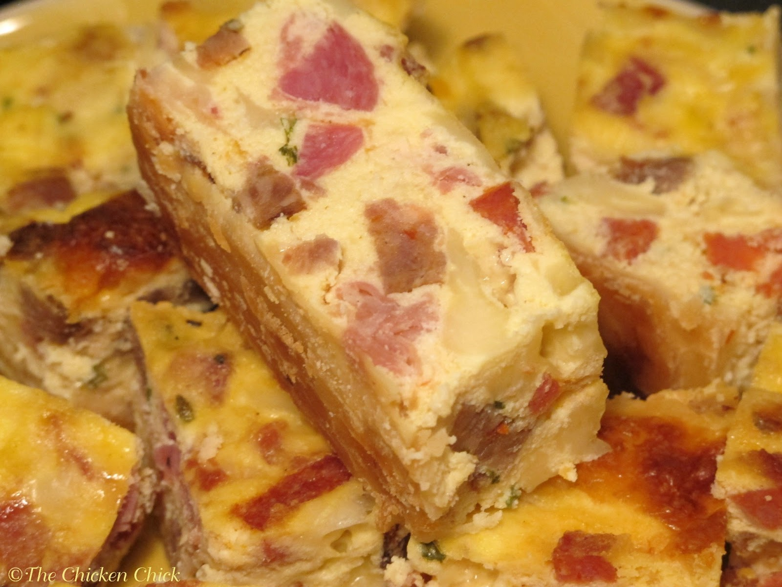 ... Chicken Chick®: Clever Chicks Blog Hop #27 with Pizza Rustica Recipe
