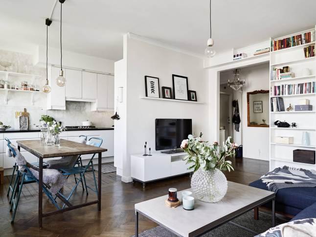 Deco ideas para decorar un peque o piso bonitas y baratas - Como amueblar un piso pequeno ...
