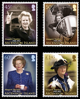 Ascension Island – Lady Thatcher - www.pobjoystamps.com