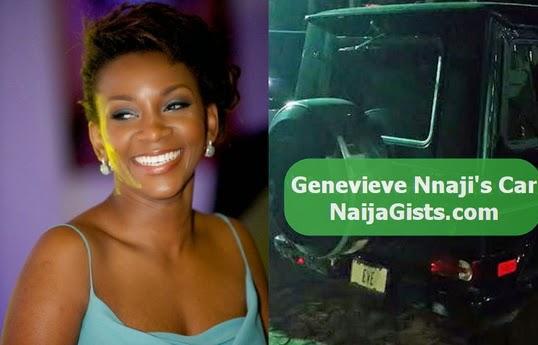 genevieve nnaji g wagon car