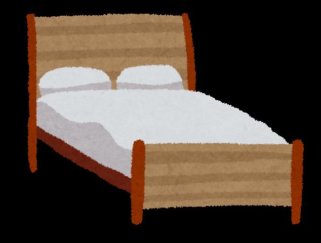 解体処分したいベッドのイメージイラスト