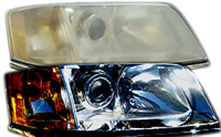 how to make discovery 3 headlights clear