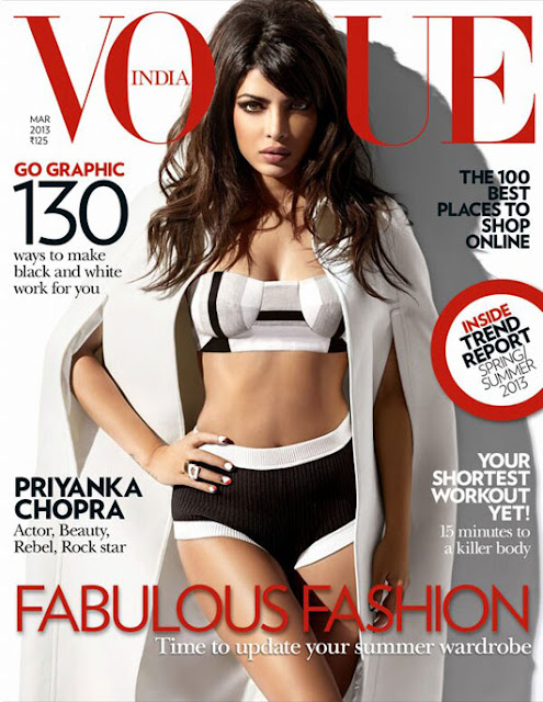 Priyanka Chopra Vogue march 2013