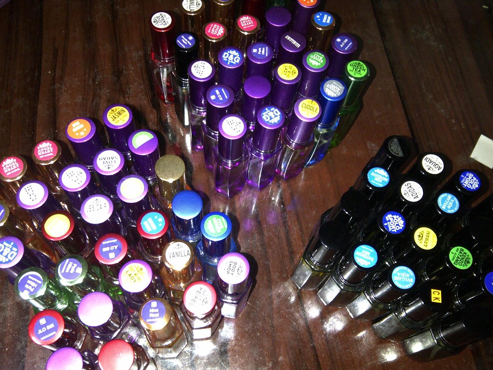 Pengiriman Parfum ke Sibolga November 2012