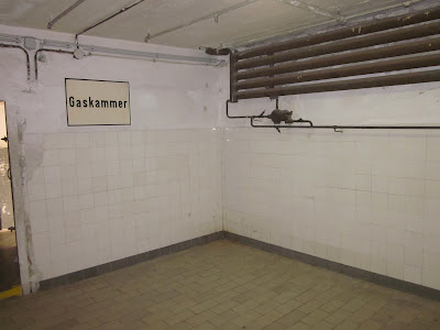 Gas chamber, Mauthausen Concentration Camp, Austria / Souvenir Chronicles