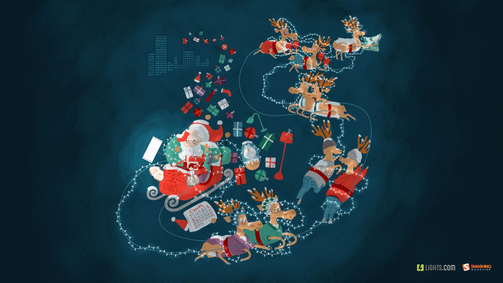 Tải Hình Nền Noel đẹp ấn tượng cho máy tính