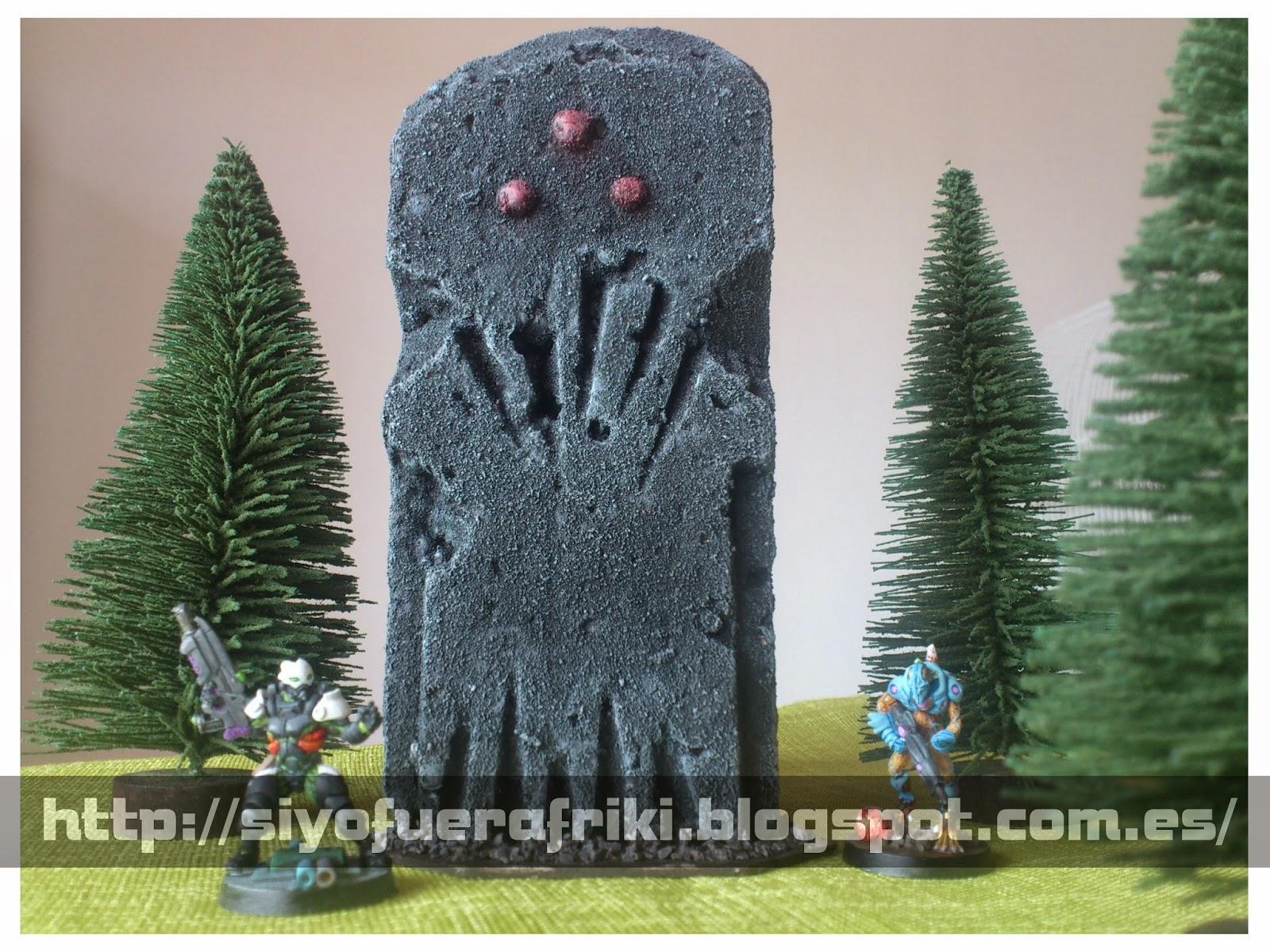 Si yo fuera friki...: Escenografía: Estatua, el ídolo sin nombre, el dio...