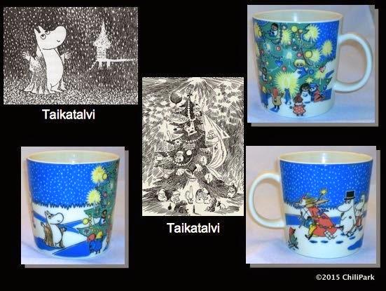 Moomin mug, Christmas mug