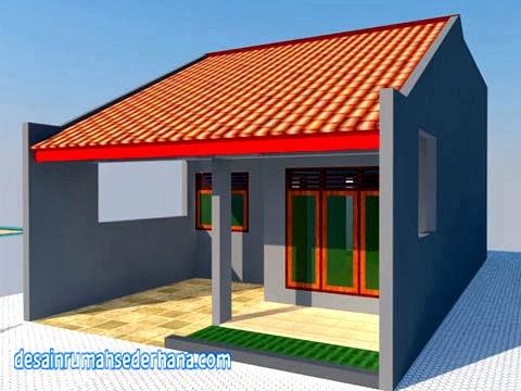 desain rumah 1 lantai - sudut kanan a3