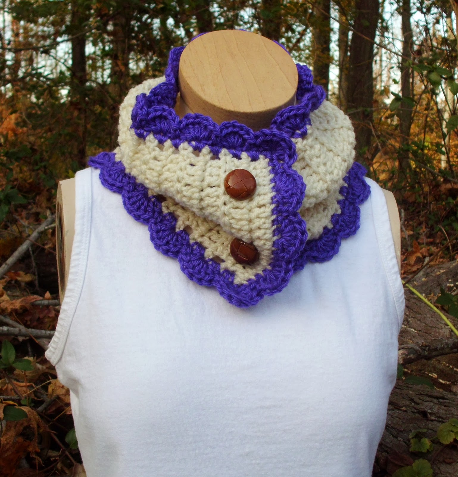 Crochet Patterns Neck Warmers : Rose Cottage Crochet: Crochet Neck Warmer Pattern Tutorial