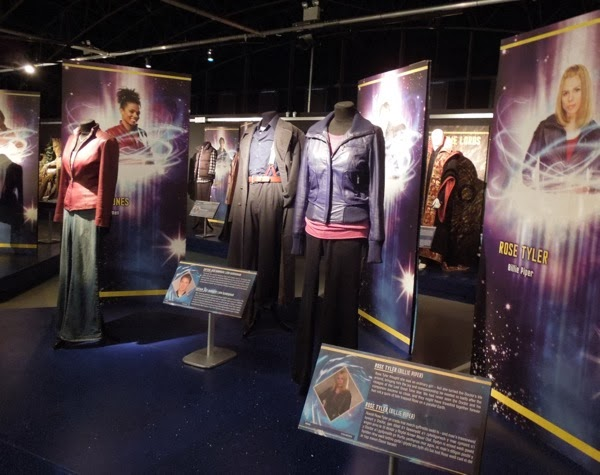 Doctor Who Companion costume exhibit