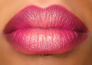 pink gradient lips mac blog