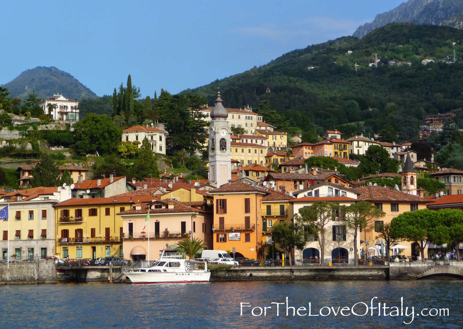 A picture of Menaggio, Italy (Lombardy) Lake Como, Italy © 2014 For The Love Of Italy