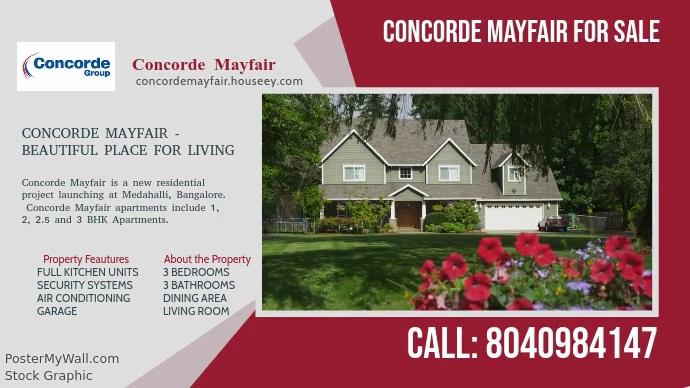 Concorde Mayfair in Medahalli, Bangalore - Price, Location, Amenities : concordemayfair.houseey.com