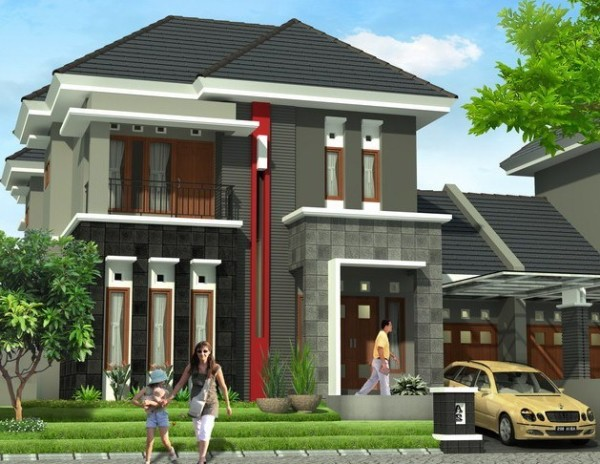 Two Floor Home Design Ideal for Family - Art Of Shine
