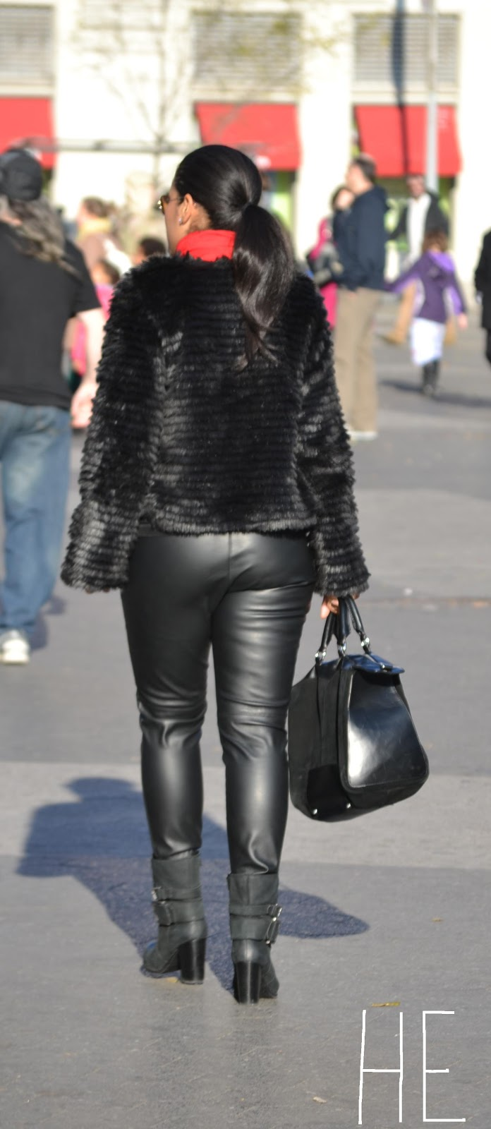 Go back gt gallery for gt women in leather pants and boots