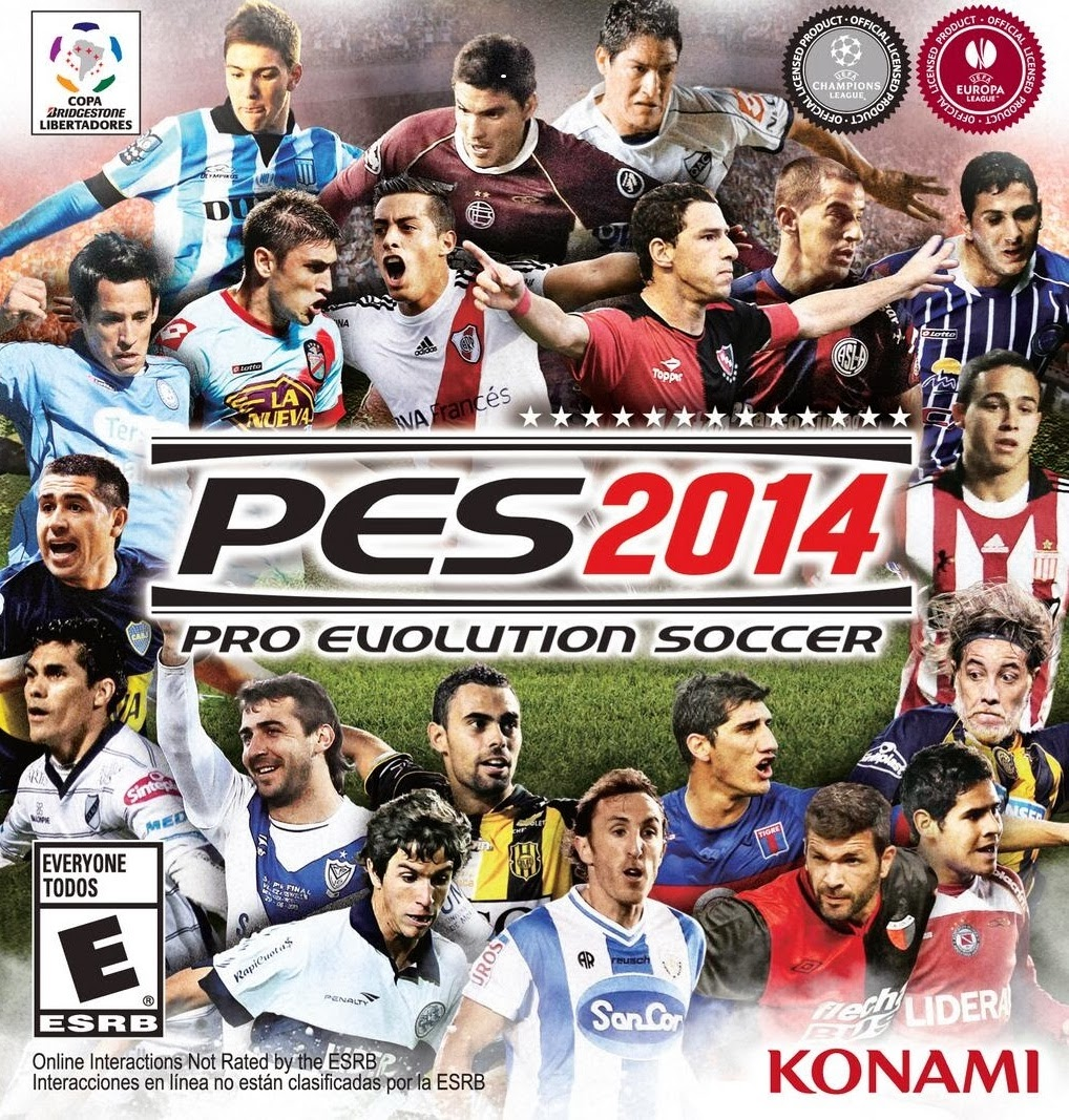 PES Pro Evolution Soccer 2014 Full version With Crack + Patch 1.01