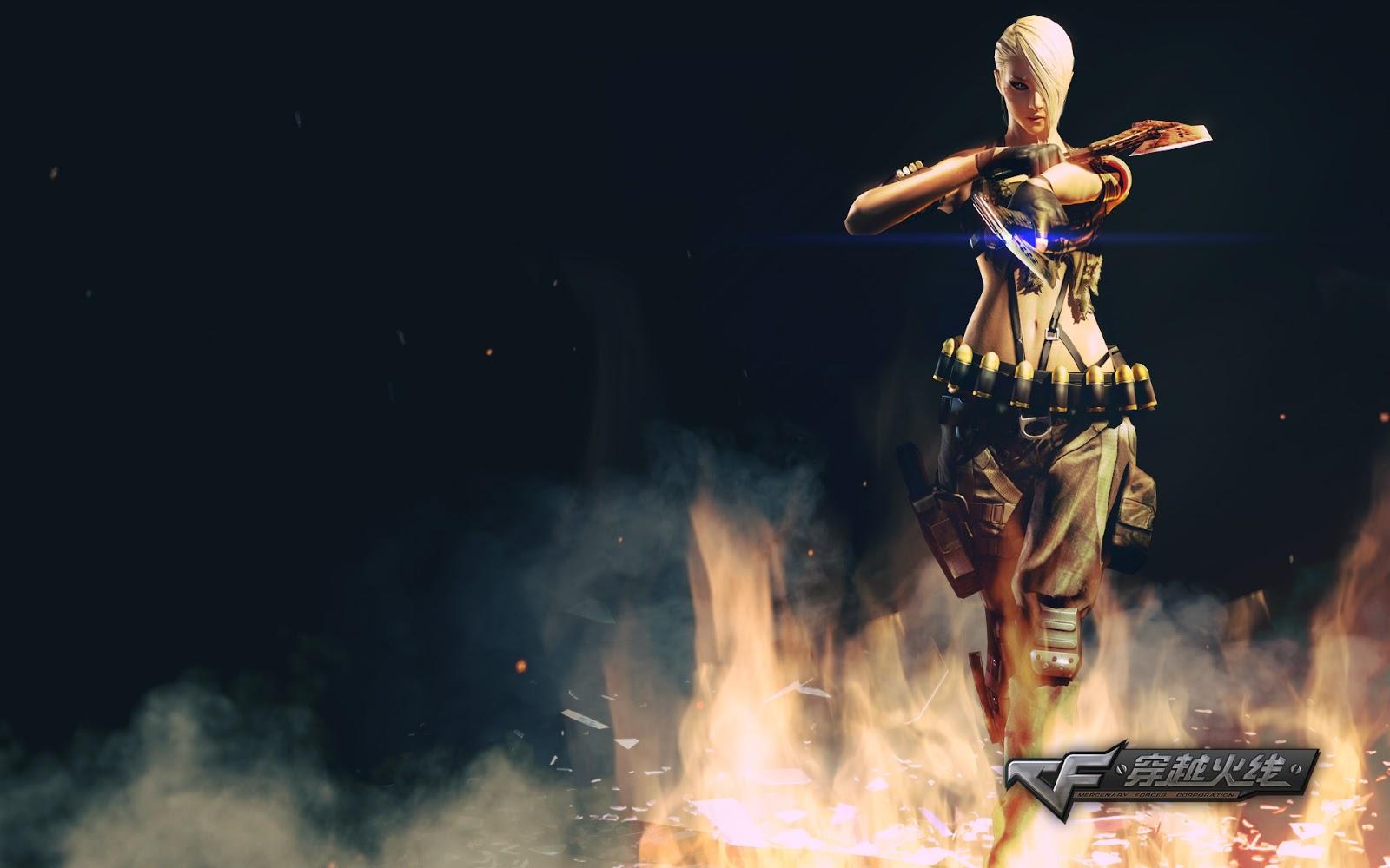 Tải Hình ảnh nền game Đột Kích Full HD - Hình nền CF 3D đẹp
