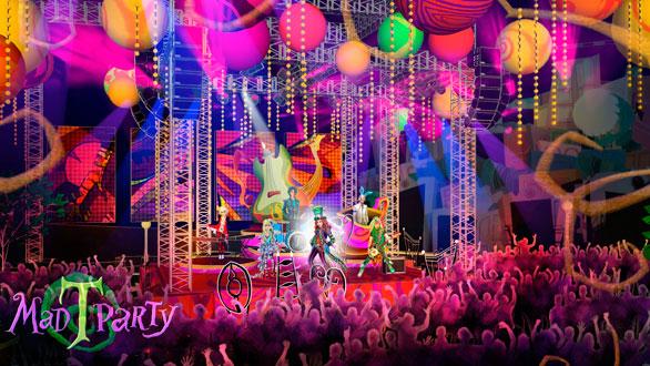 Sasaki Time: Mad T Party at Disney California Adventure