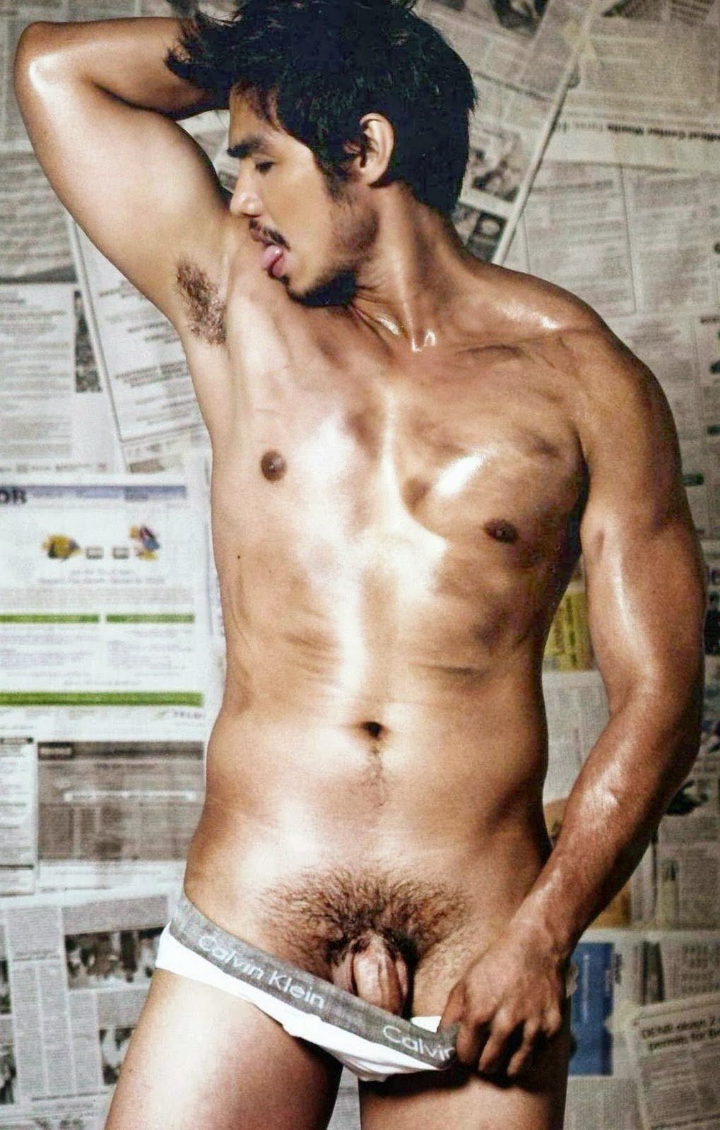 Pinoy handsome celebrity cock gay sky gets