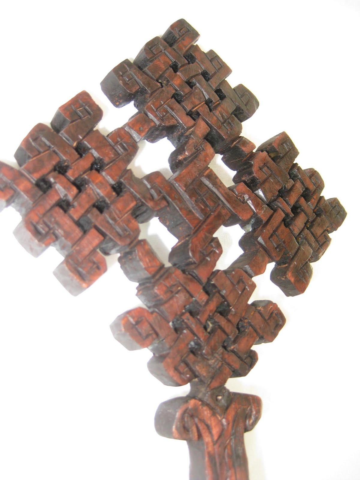 Ethiopian Wooden Cross Adami Tulu Project: It...