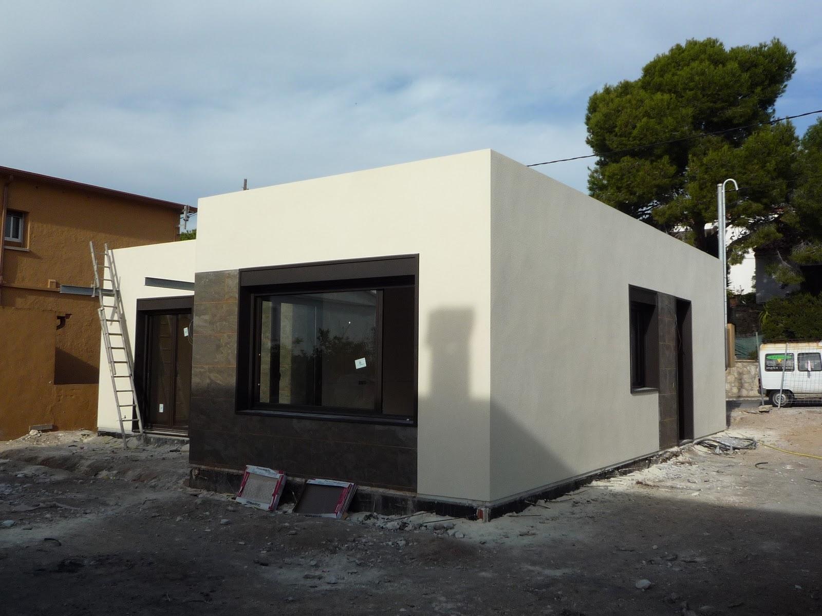 Casas modulares blochouse casa blochouse en calafell - Casas de panel sandwich ...